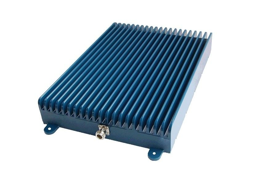 Blue Metal Cover Single Band Repeater / Mobile Signal Repeater 33 DB Power